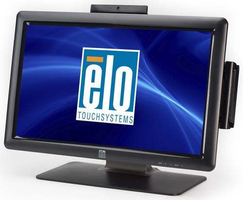 elo 2201L IT webcam y msr